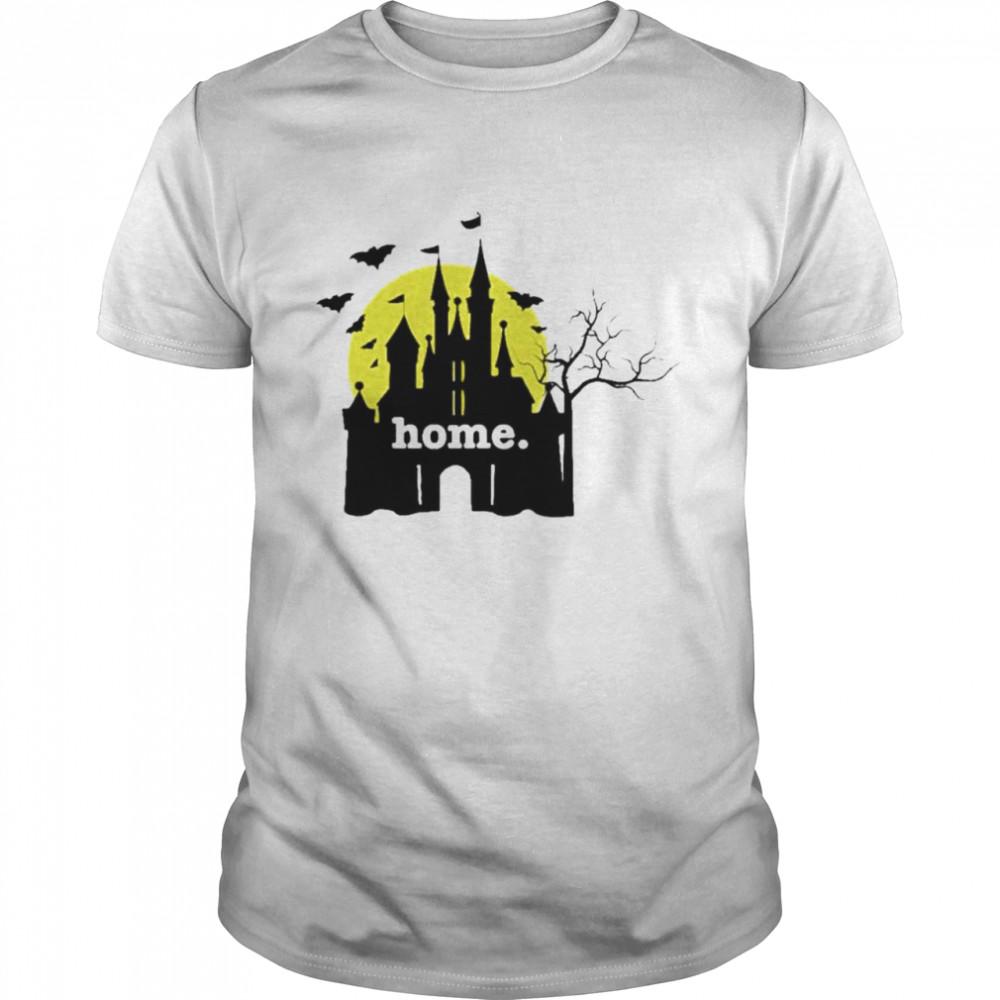 Disneyland Haunted Castle home shirt Classic Men's T-shirt
