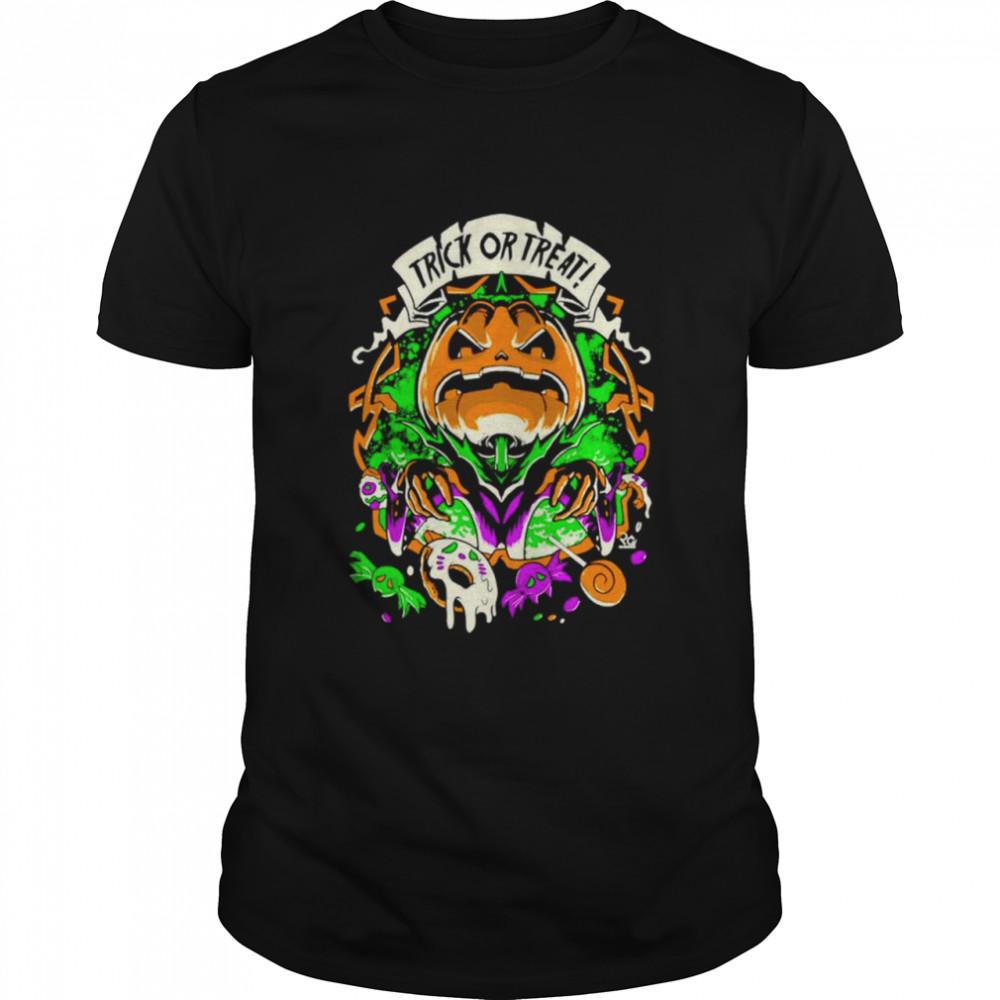 Halloween Pumpkin Trick Or Treat  Classic Men's T-shirt