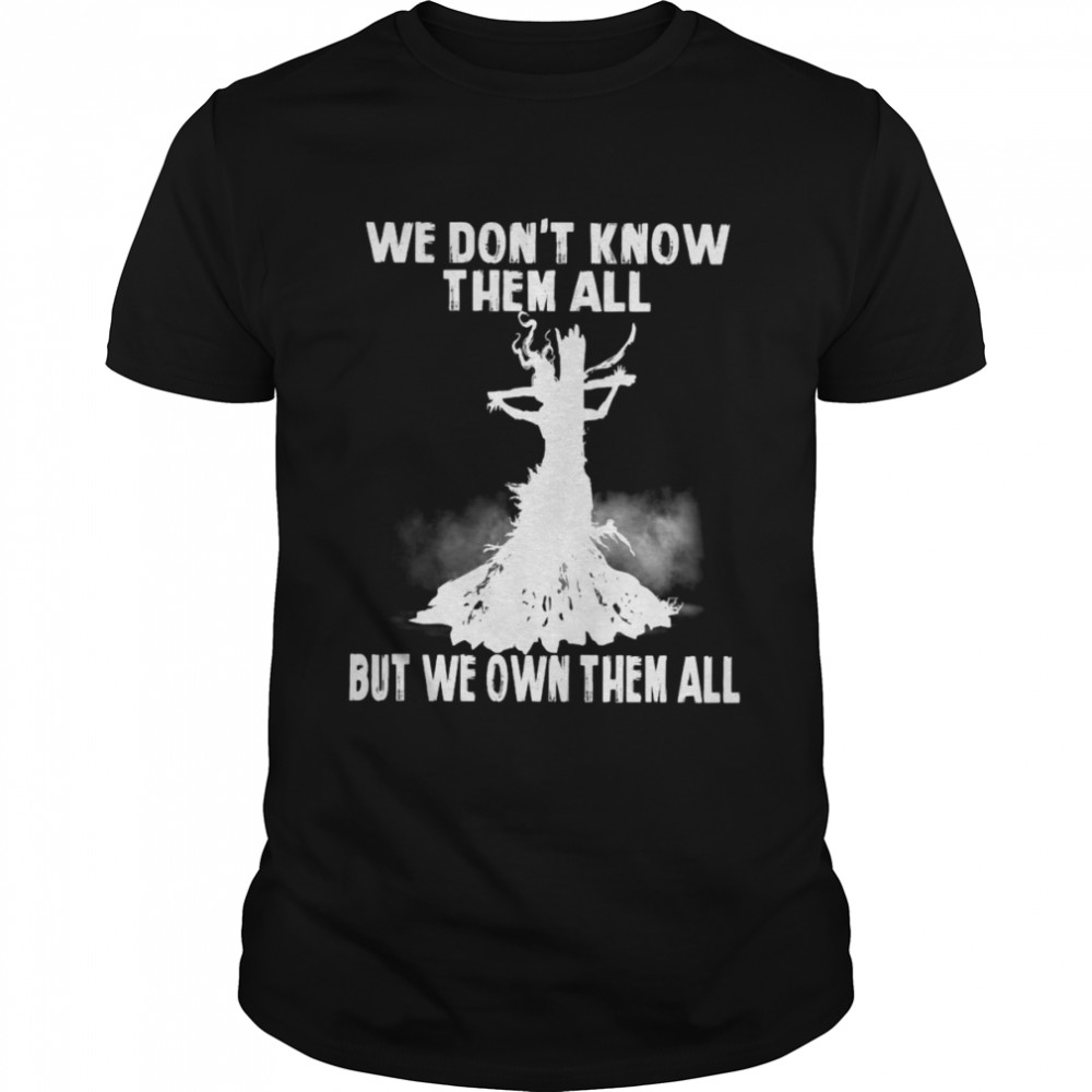 Witch We Don't Know Them All But We Own Them All Halloween T-shirt Classic Men's T-shirt