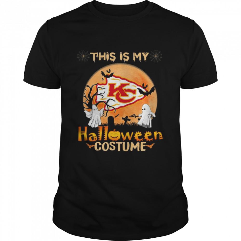 Kansas City Chiefs Boos This is my Halloween Costume Moon shirt Classic Men's T-shirt