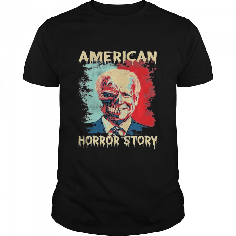 Biden Clown American Horror Story Funny Vintage shirt Classic Men's T-shirt