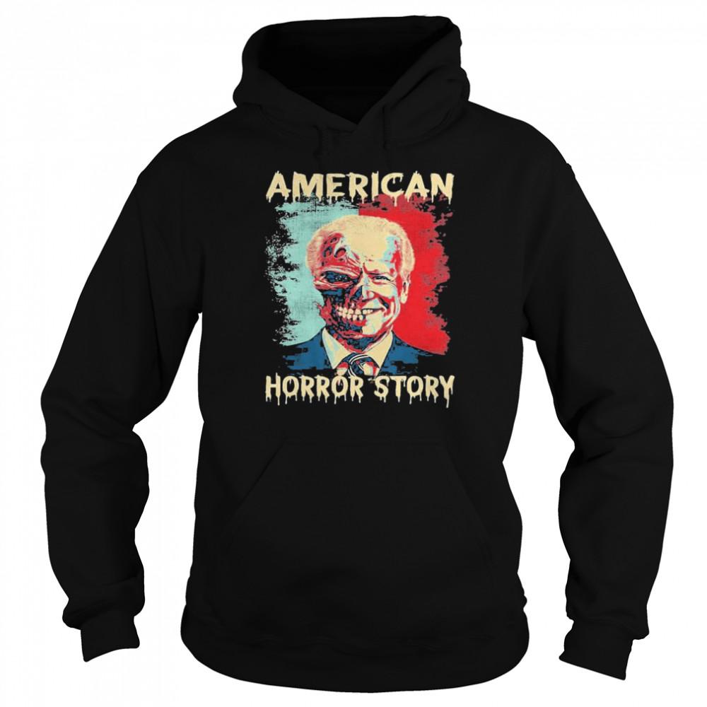 Biden Clown American Horror Story Funny Vintage shirt Unisex Hoodie