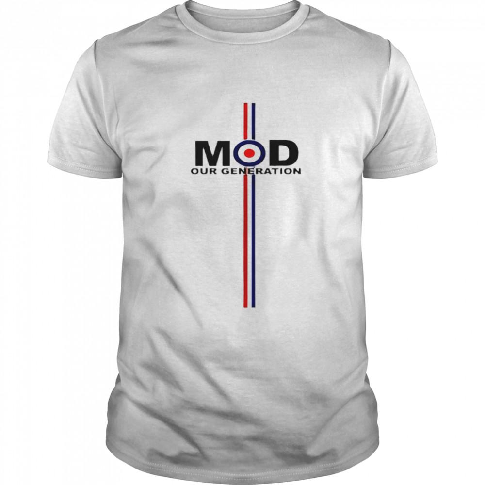 MOD our generation shirt Classic Men's T-shirt