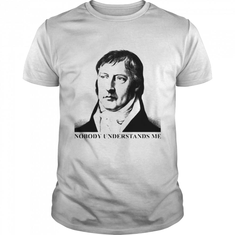 Nobody Understands Me T-shirt Classic Men's T-shirt