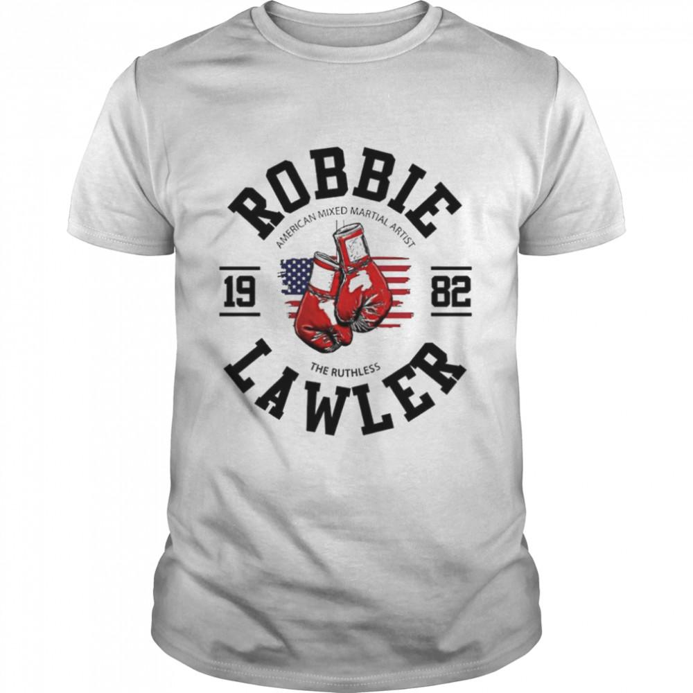 Robbie Lawler UFC American mixed martial artist 1982 boxer shirt Classic Men's T-shirt