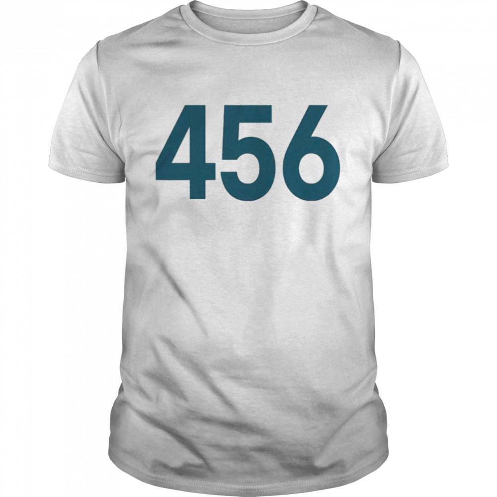 Squid Game Korean movie number 456 winner shirt Classic Men's T-shirt