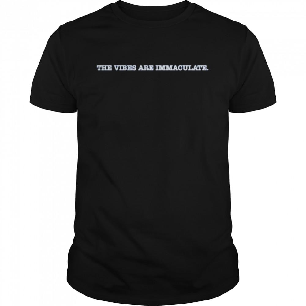 Jalen Brunson the vibes are immaculate T-shirt Classic Men's T-shirt