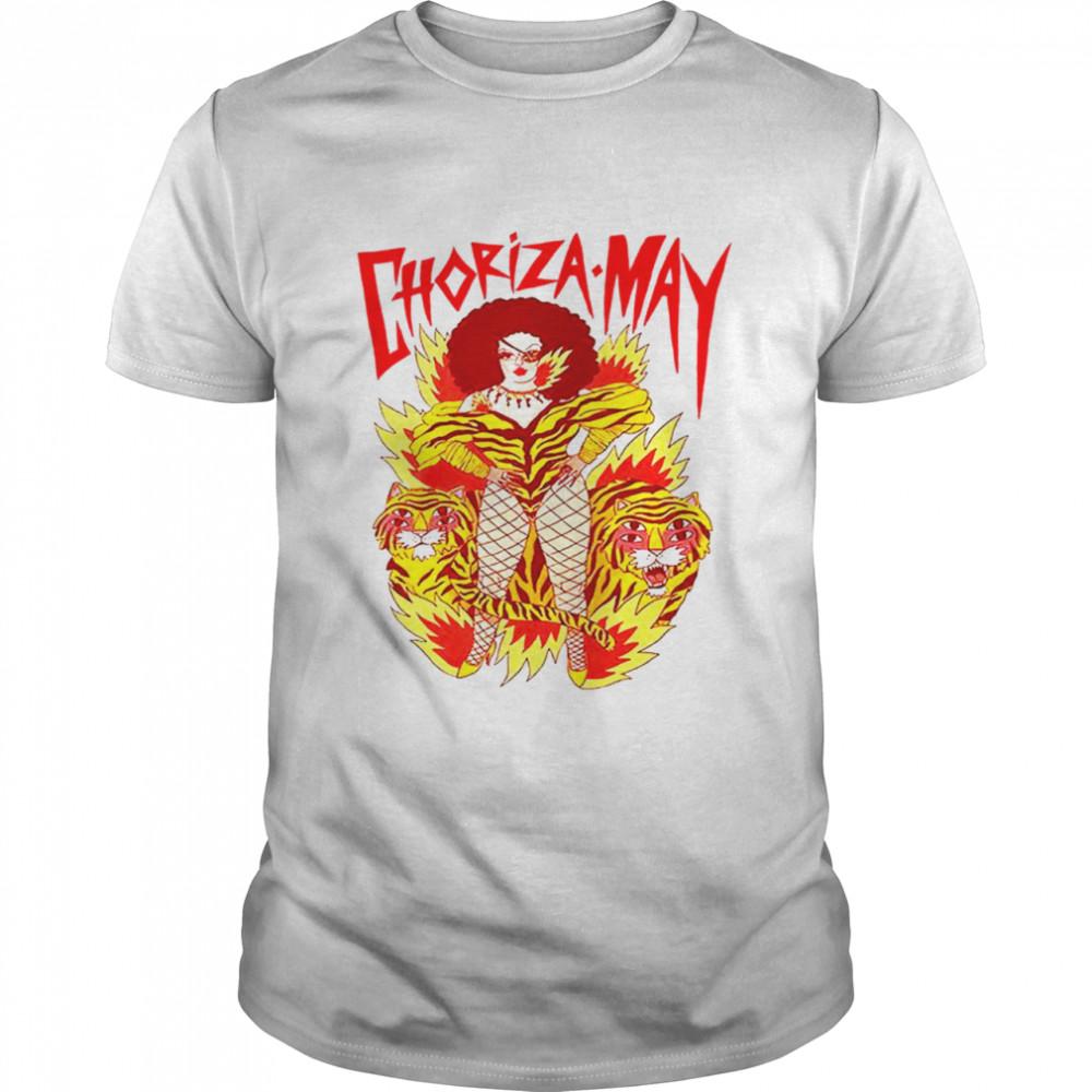 Choriza May Tiger shirt Classic Men's T-shirt