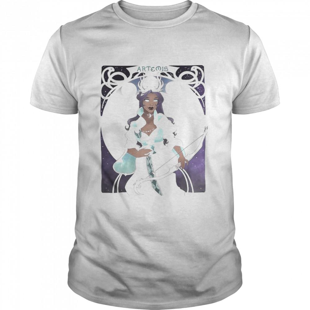 Art Nouveau Artemis shirt Classic Men's T-shirt