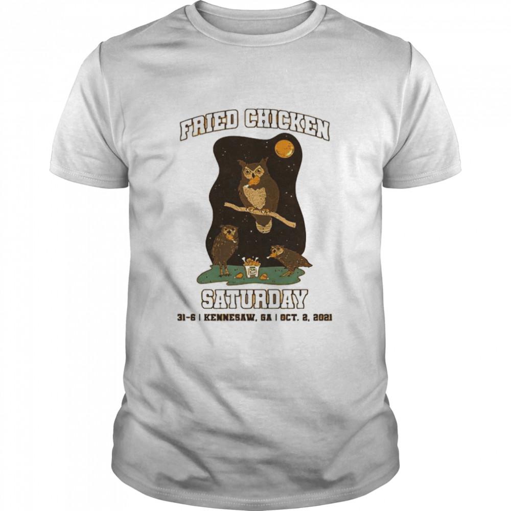 Fried Chicken Saturday shirt Classic Men's T-shirt