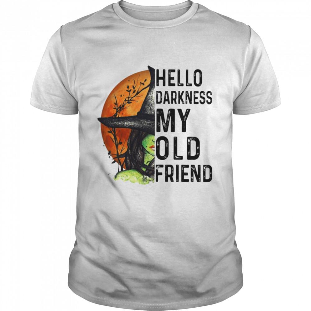 Hello Darkness My Old Friend  Classic Men's T-shirt
