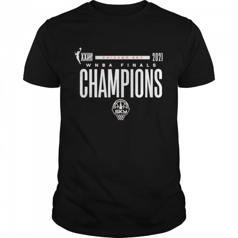 Chicago Sky Fanatics Branded 2021 WNBA Finals Champions T- Classic Men's T-shirt